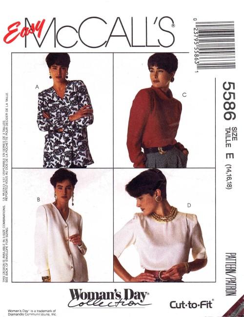 McCall's 5586 A