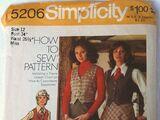 Simplicity 5206 A