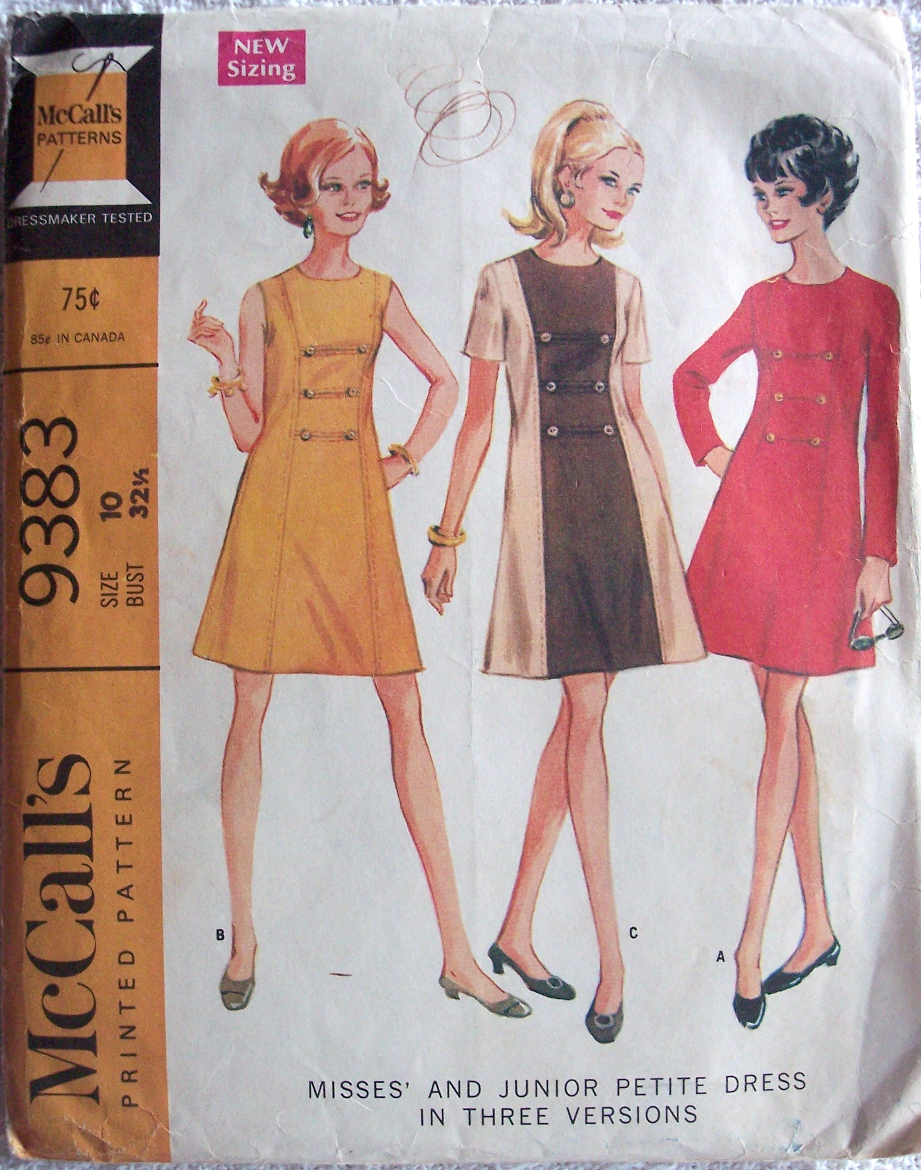 McCall's 9383 A