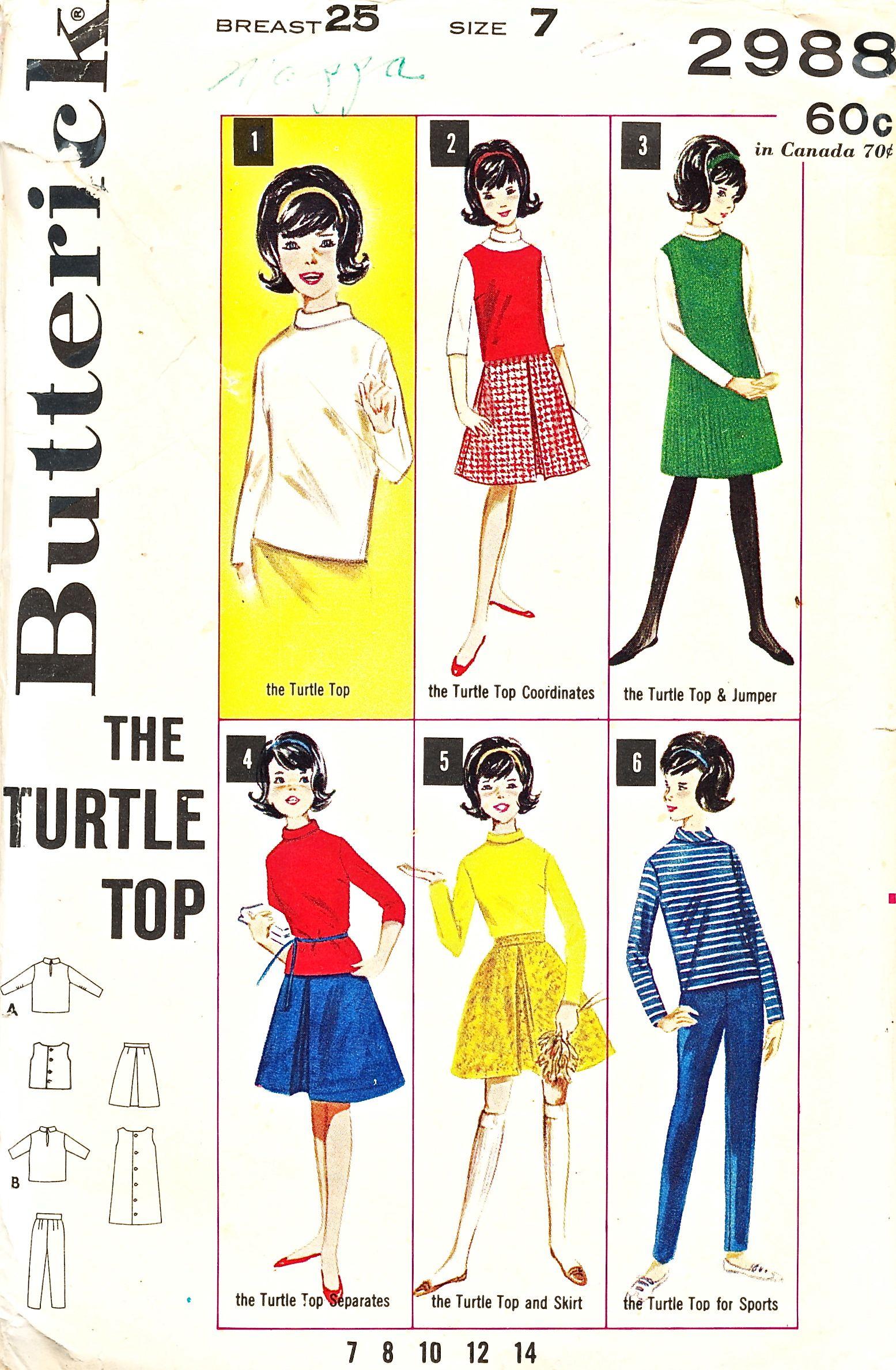 Butterick 2988