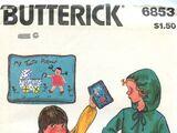 Butterick 6853 A