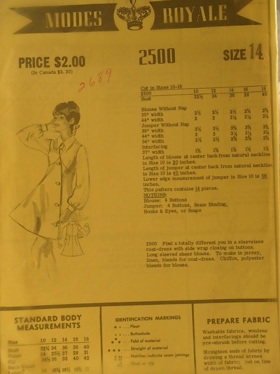 Modes Royale 2500