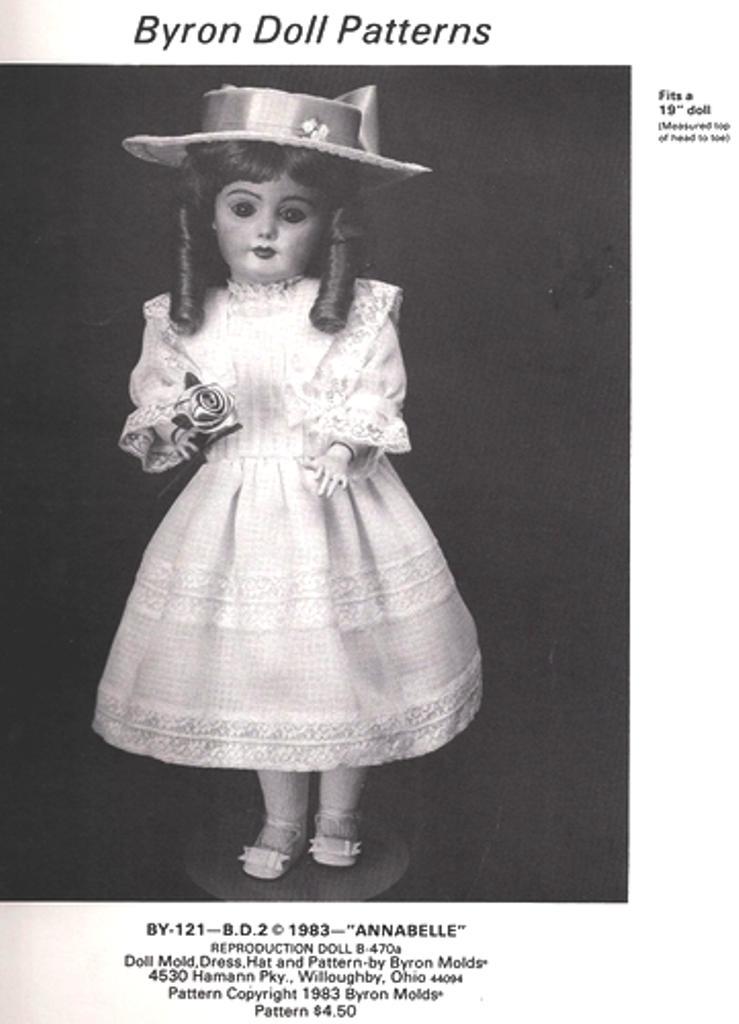 Byron Doll Patterns BY-121
