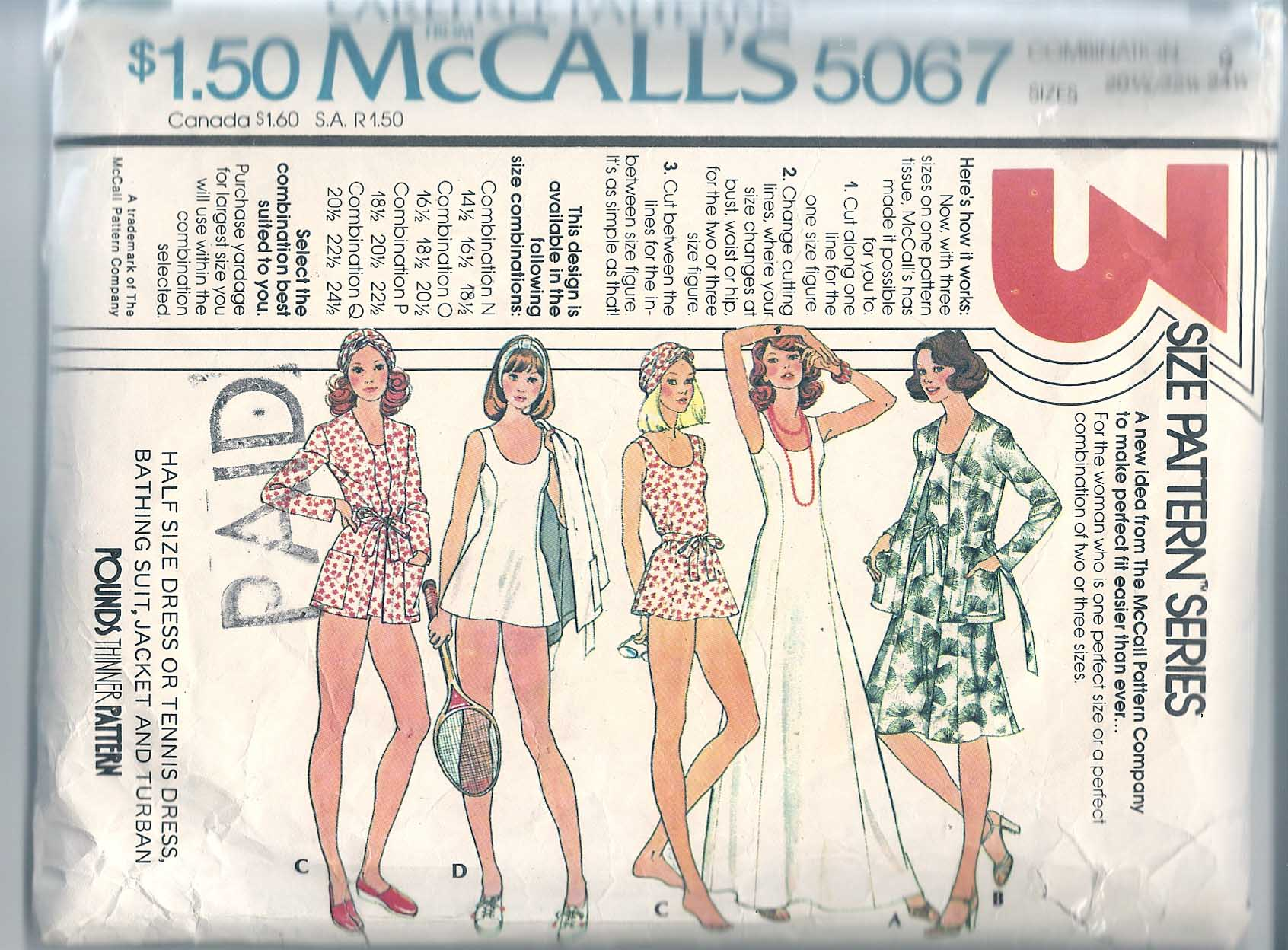 McCall's 5067