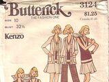 Butterick 3124 A