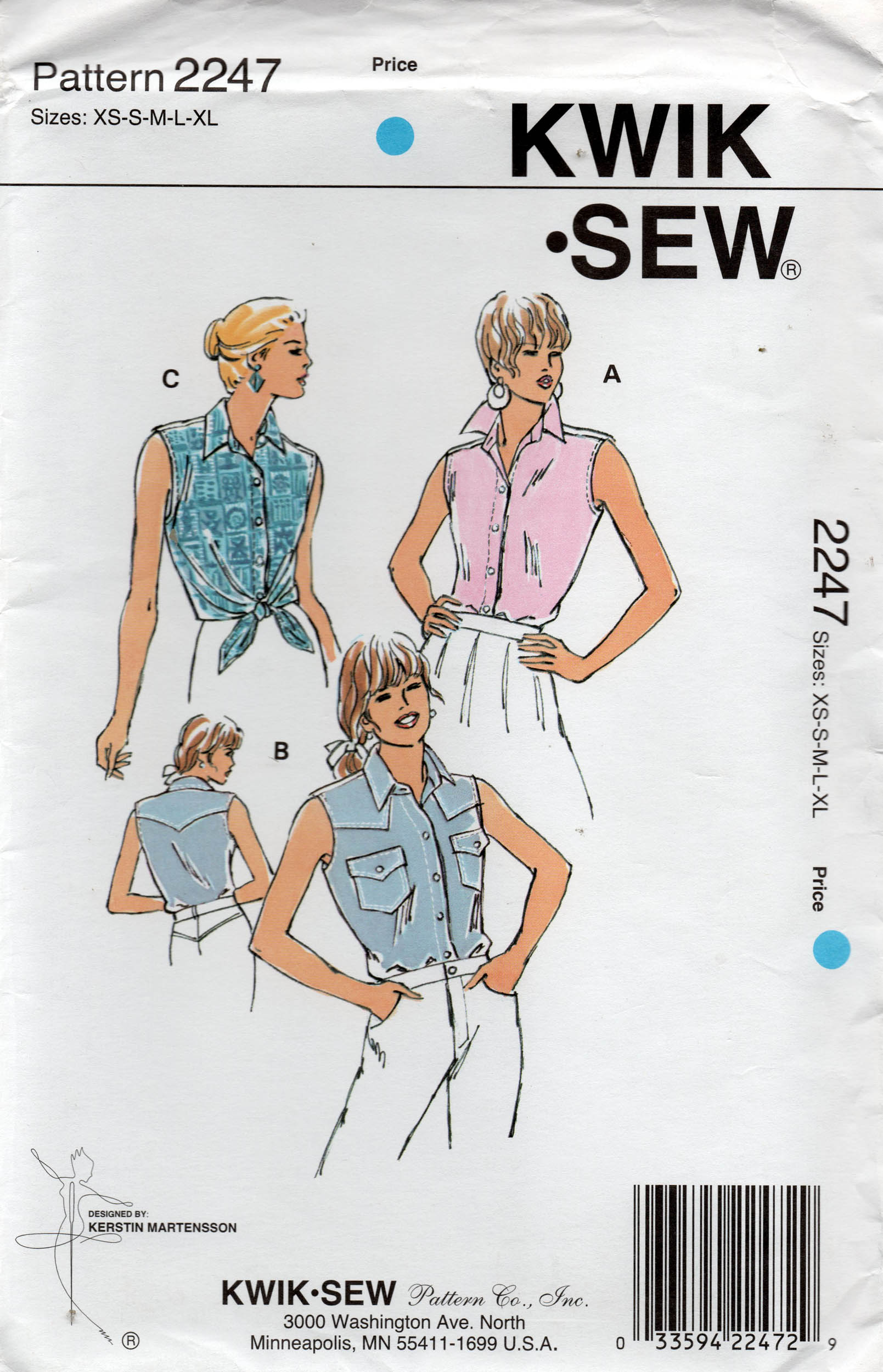 Kwik Sew 2247