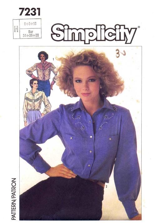 Simplicity 7231 B