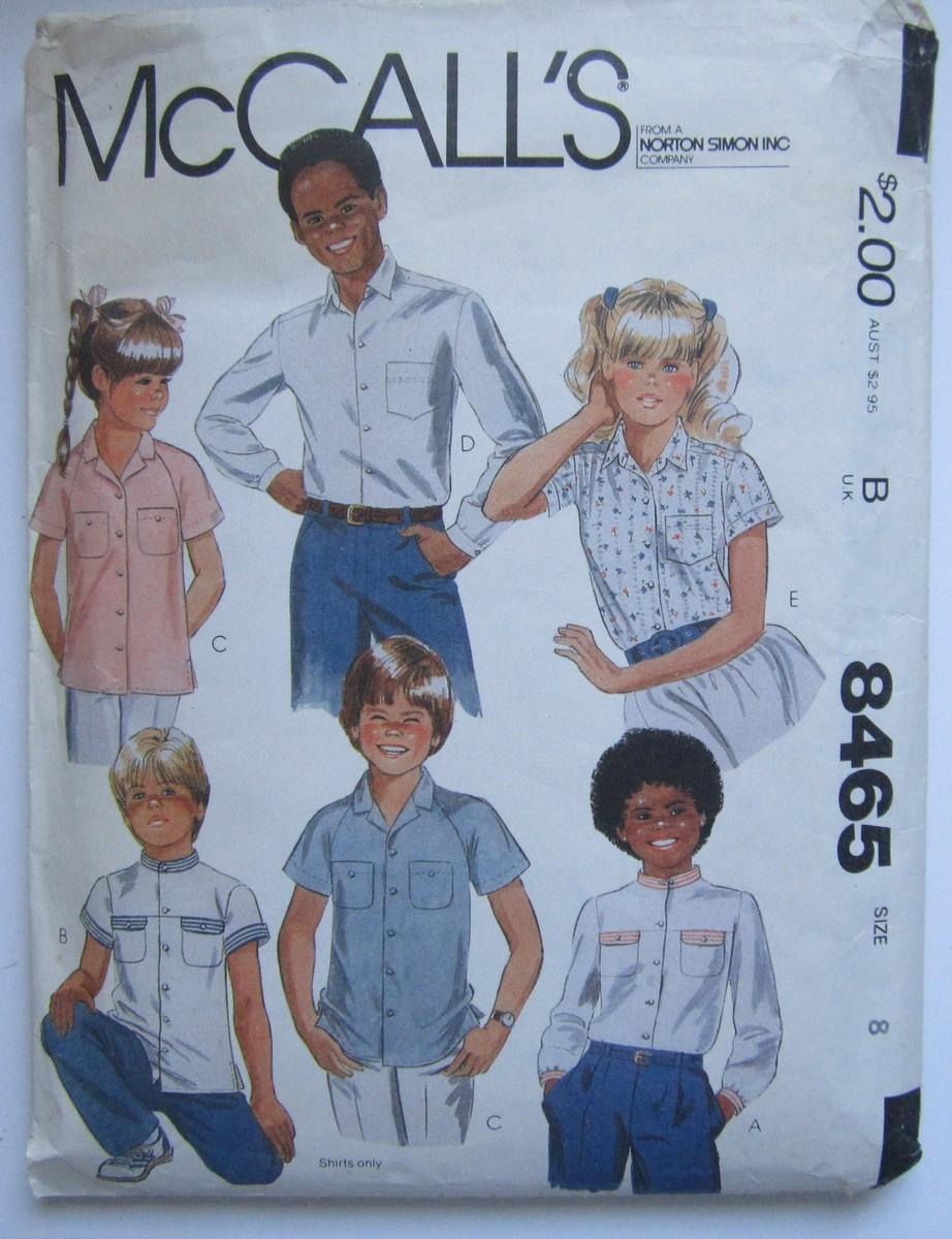McCall's 8465 A