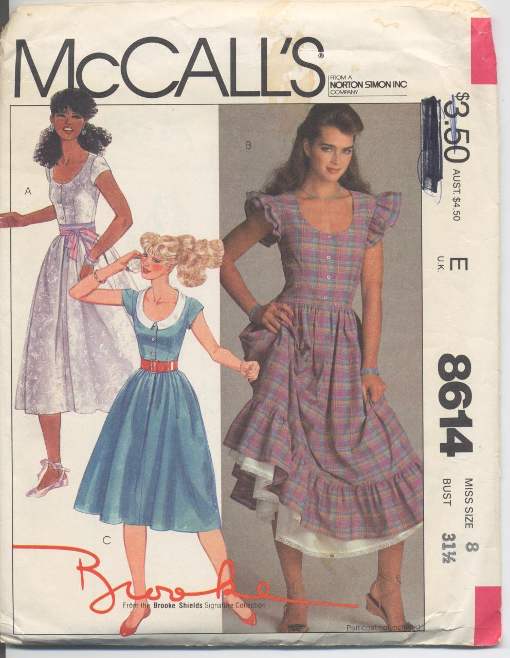 McCall's 8614 A