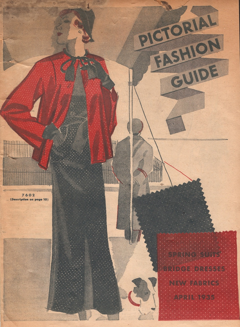 Pictorial Fashion Guide April 1935