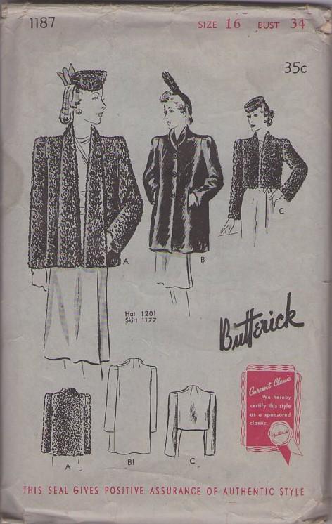 Butterick 1187