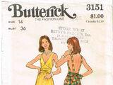 Butterick 3151 A