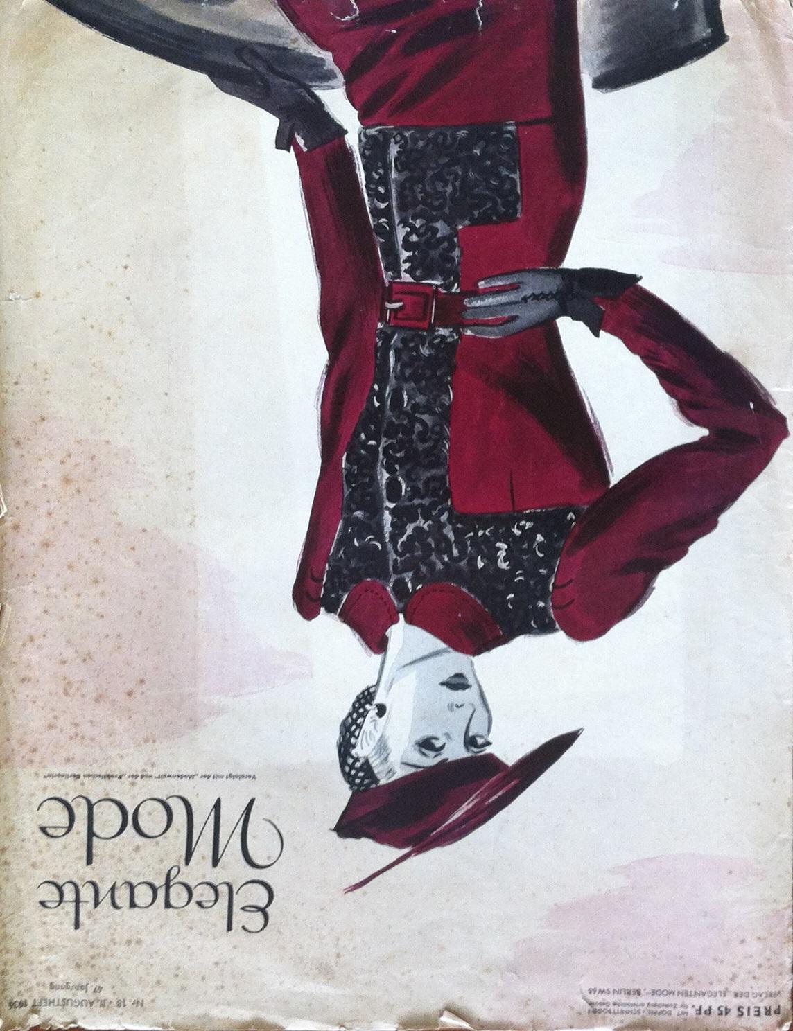 Elegante Mode No. 18 Vol. 47 1936