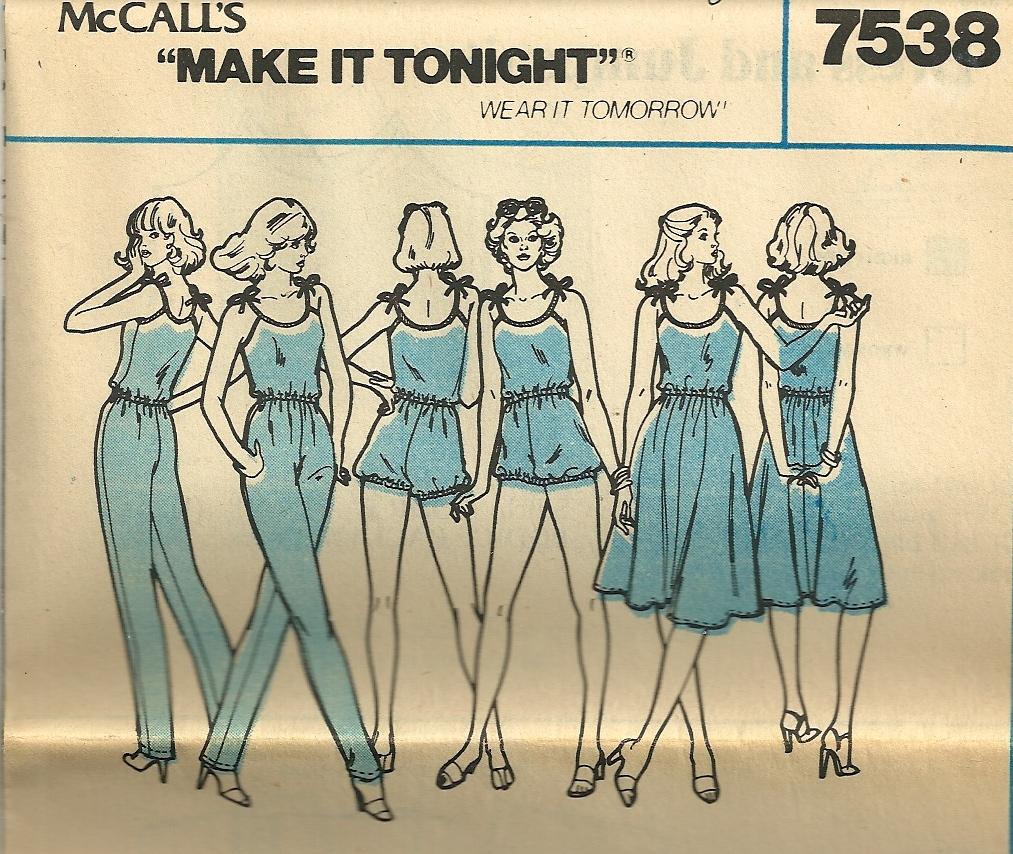 McCall's 7538 A