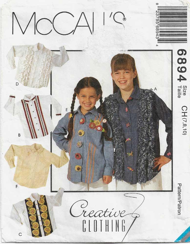McCall's 6894 A