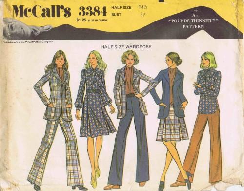 McCall's 3384 A