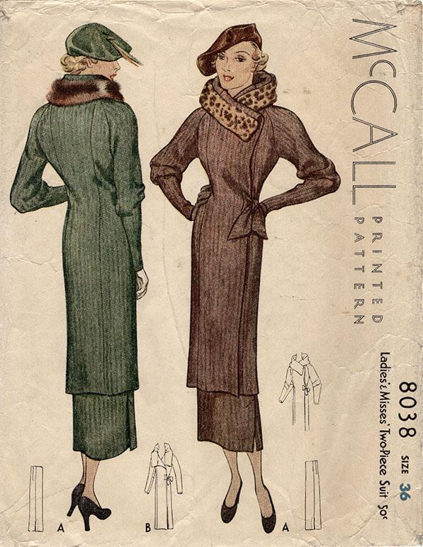 McCall 8038 A
