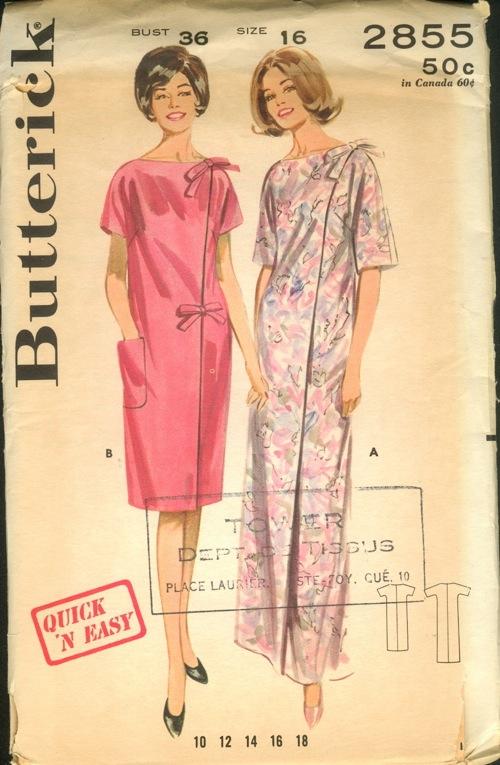 Butterick 2855