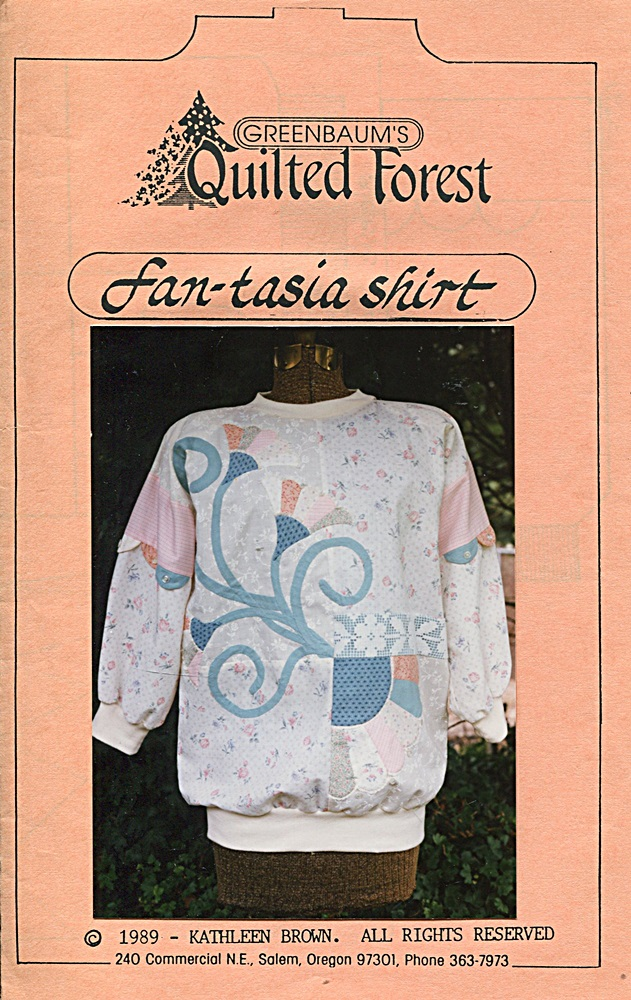 Greenbaum's Quilted Forest Fan-tasia Shirt