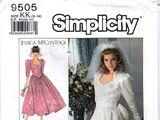 Simplicity 9505 B