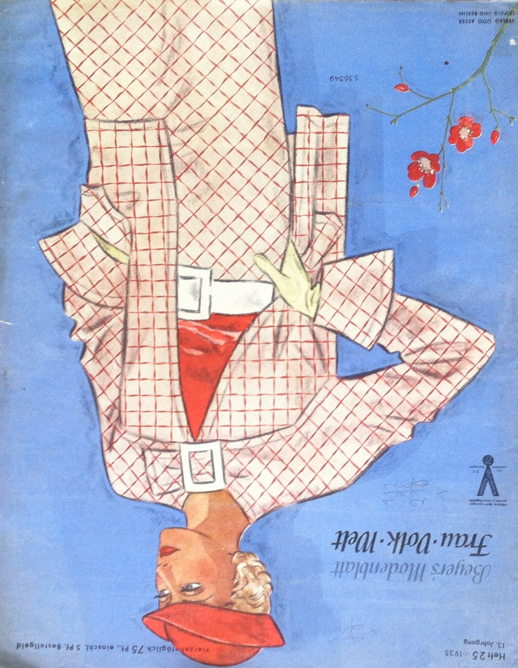 Beyers Modenblatt No. 25 Vol. 13 1935