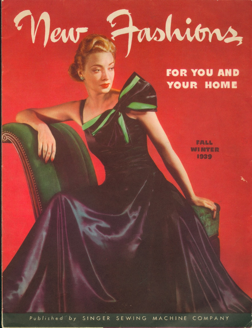 Singer New Fashions Fall Winter 1939