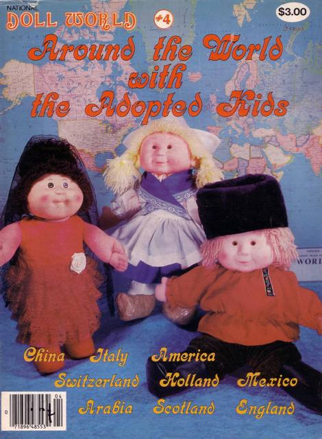 National Doll World No 4 1986