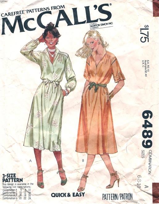 McCall's 6489