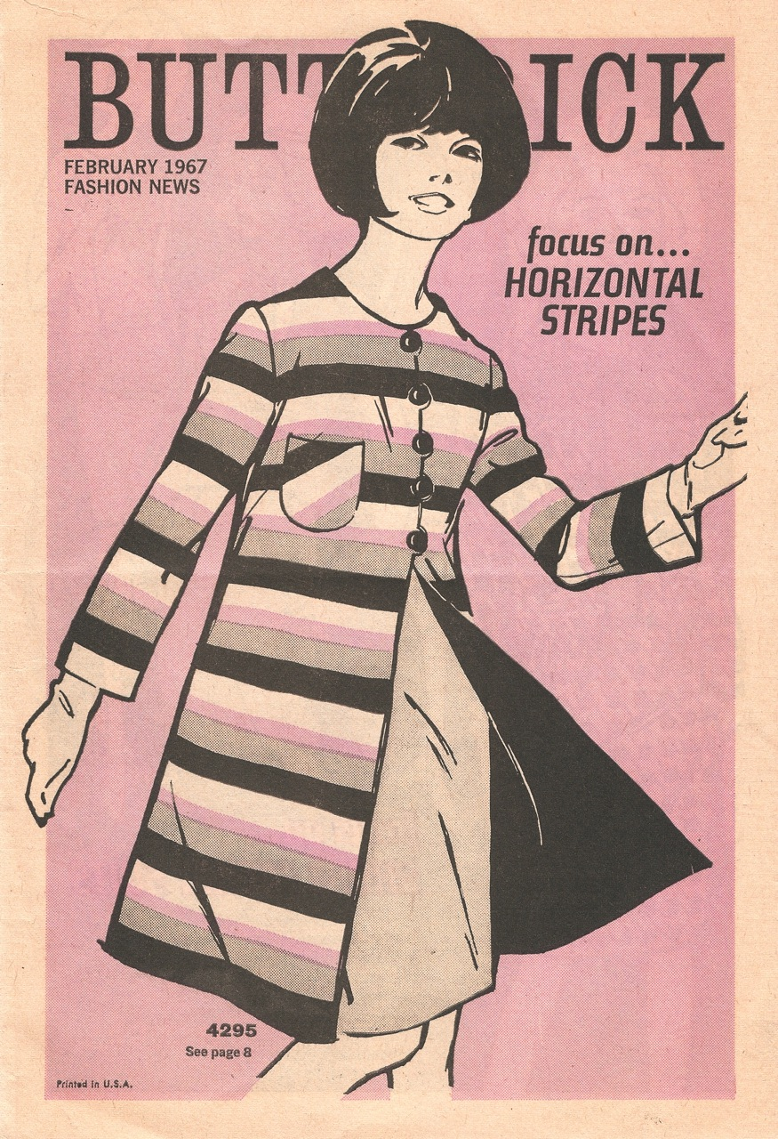 Butterick Fashion News February 1967