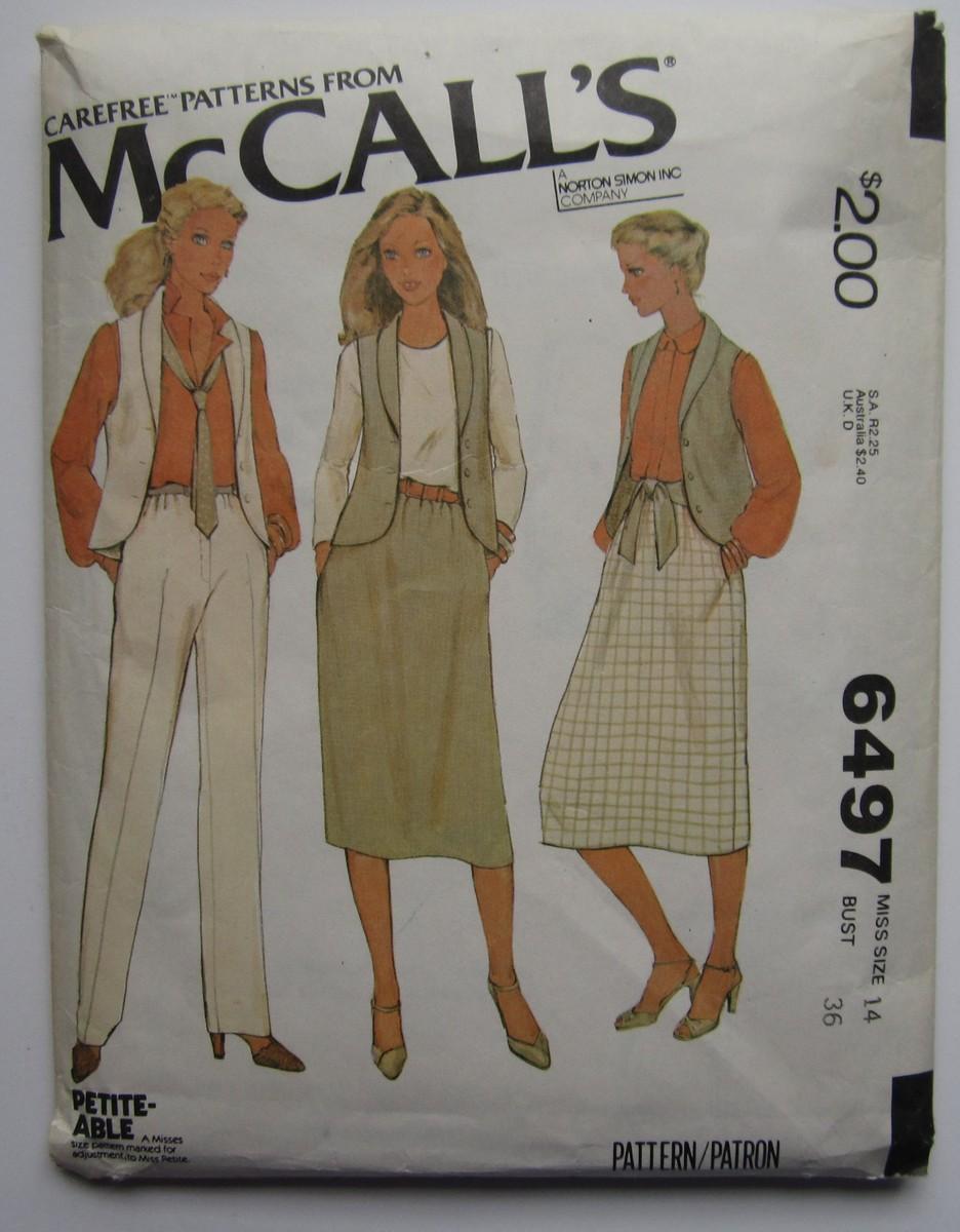 McCall's 6497