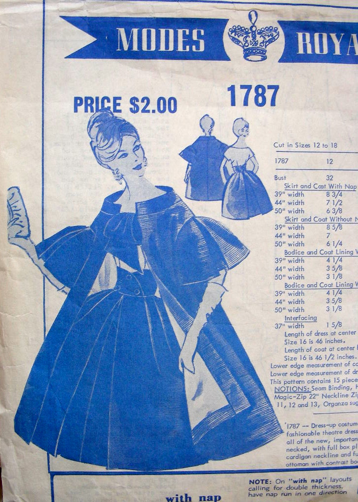 Modes Royale 1787