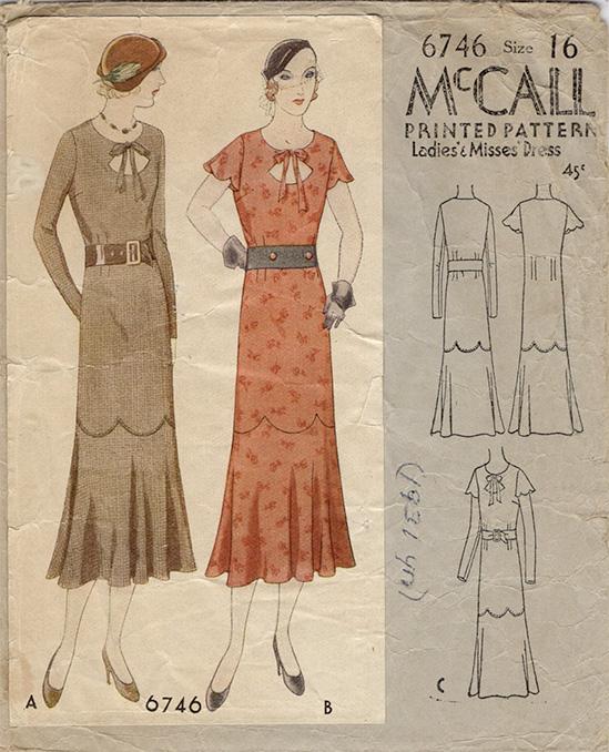 McCall 6746 A