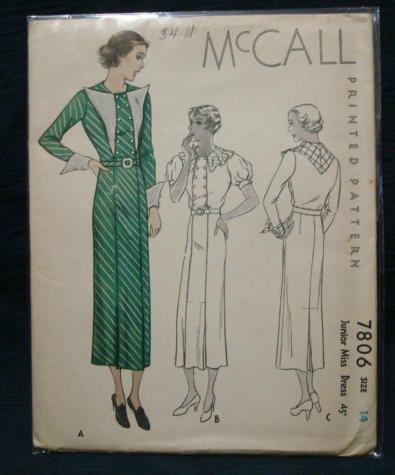 McCall 7806