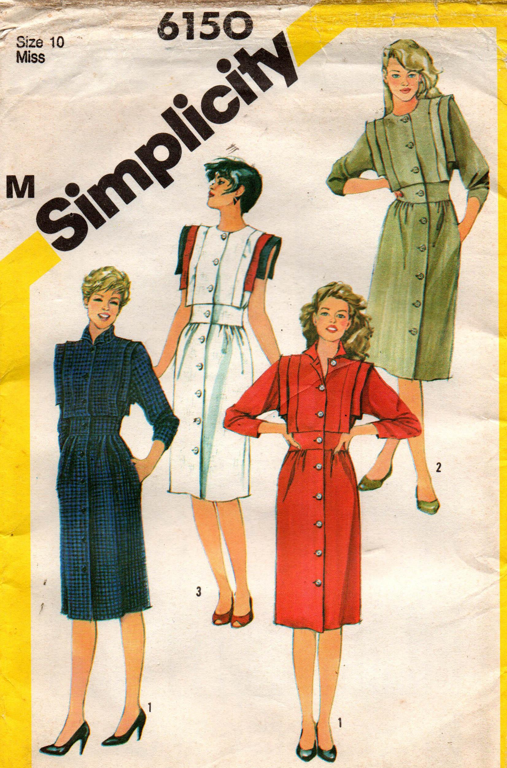 Simplicity 6150 A