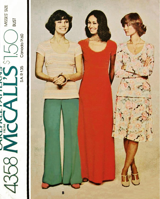 McCall's 4358 A