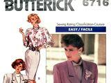 Butterick 6716 B