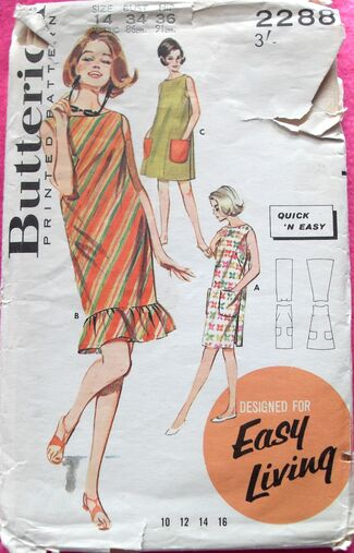 Butterick 2288 - Illustration Version