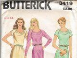 Butterick 3419 A