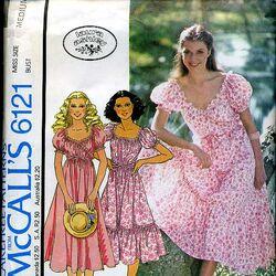 McCall's 6121 A