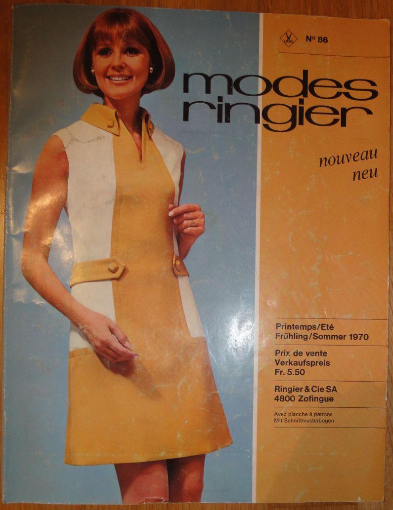 Modes Ringier Spring/Summer 1970