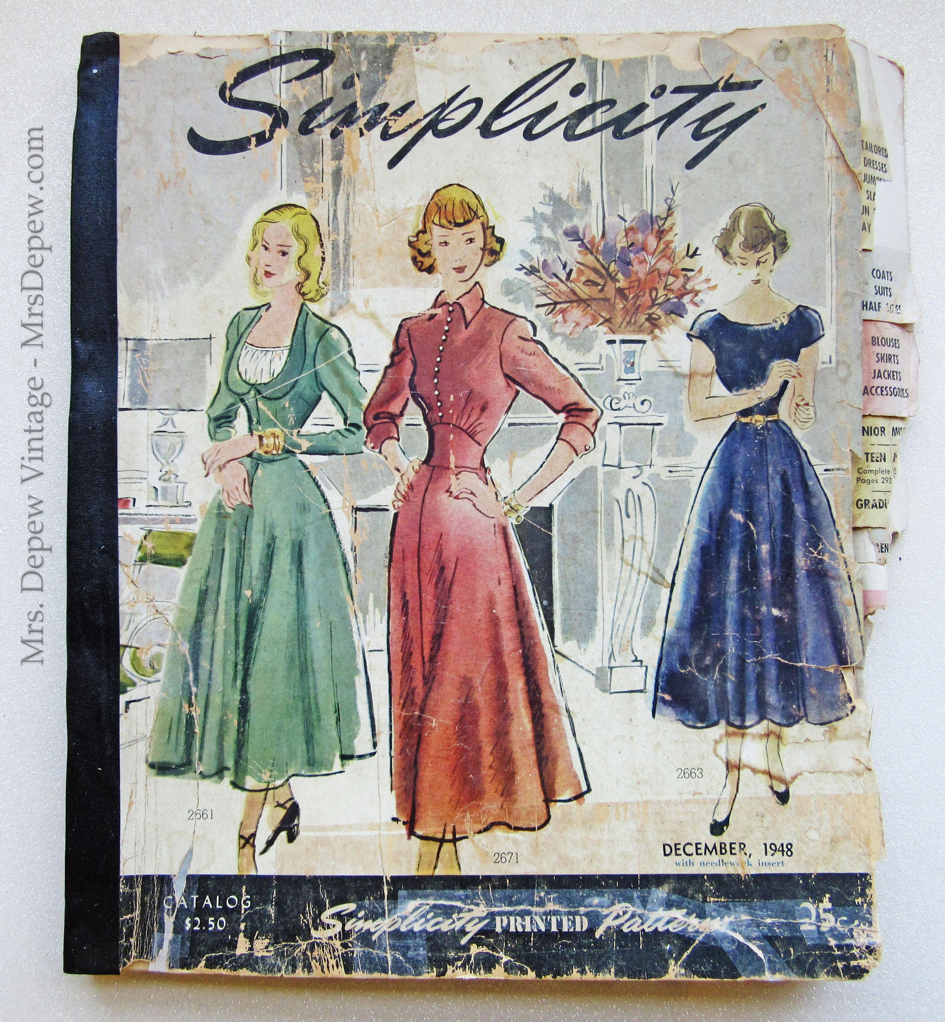 Simplicity Counter Catalog December 1948