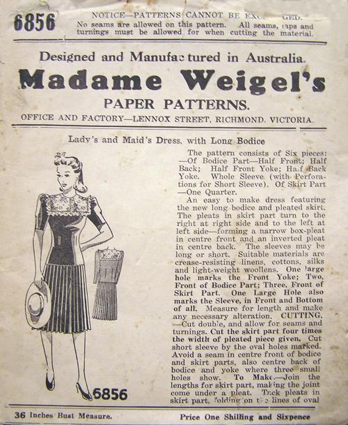 Madame Weigel's 6856
