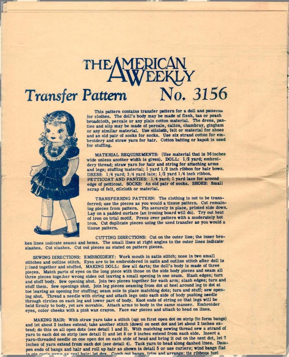 American Weekly 3156