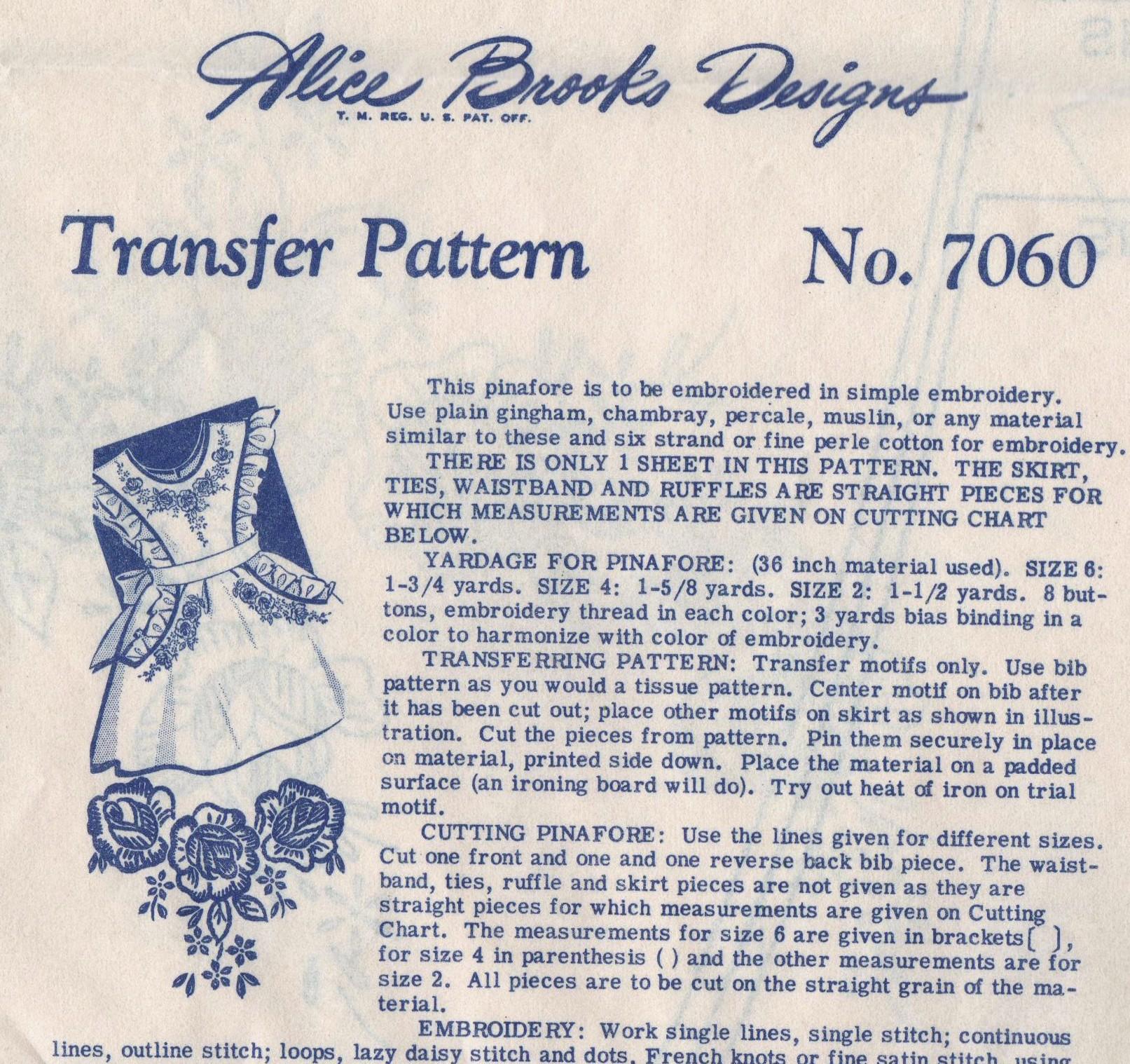 Alice Brooks 7060