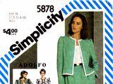 Simplicity 5878 B