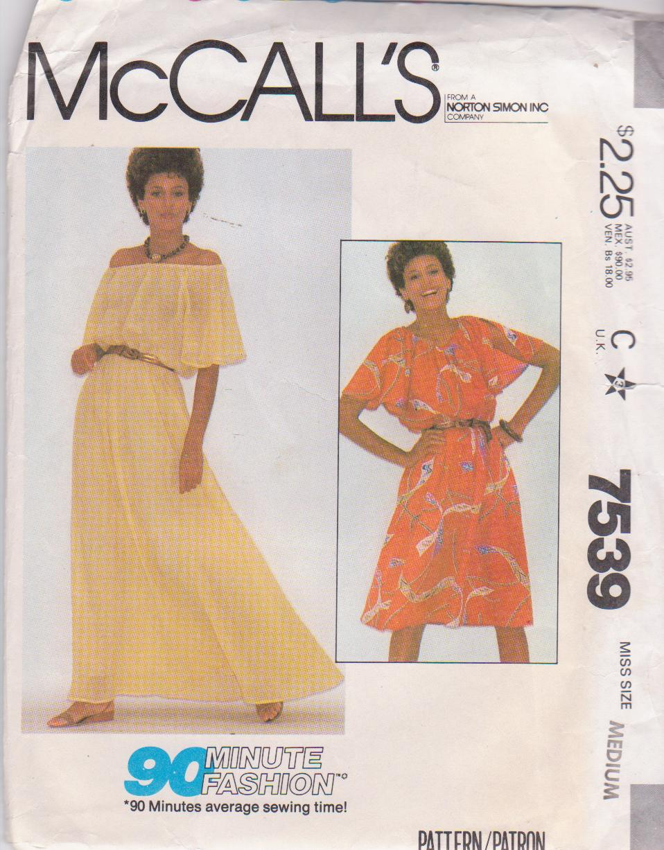 McCall's 7539