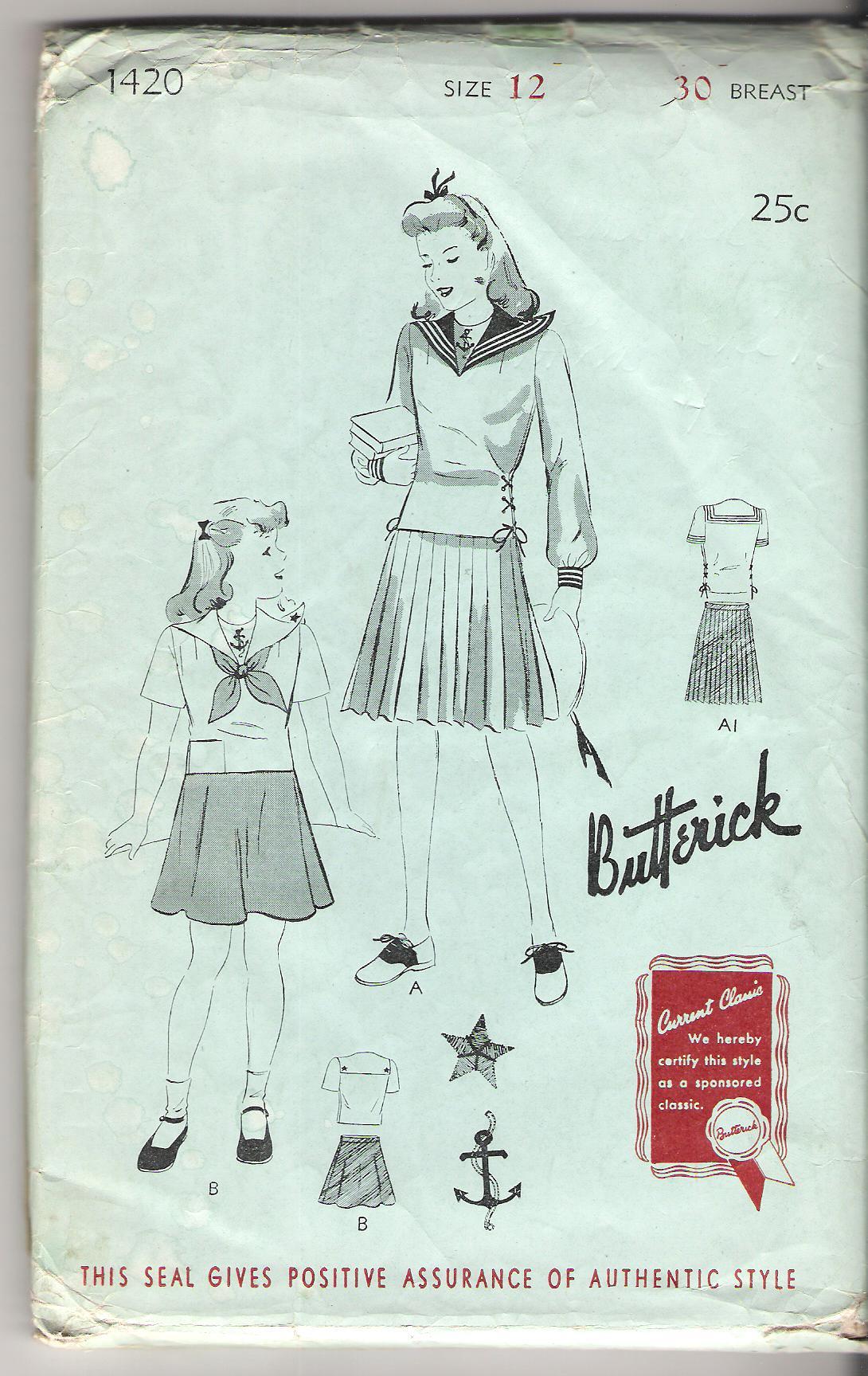 Butterick 1420