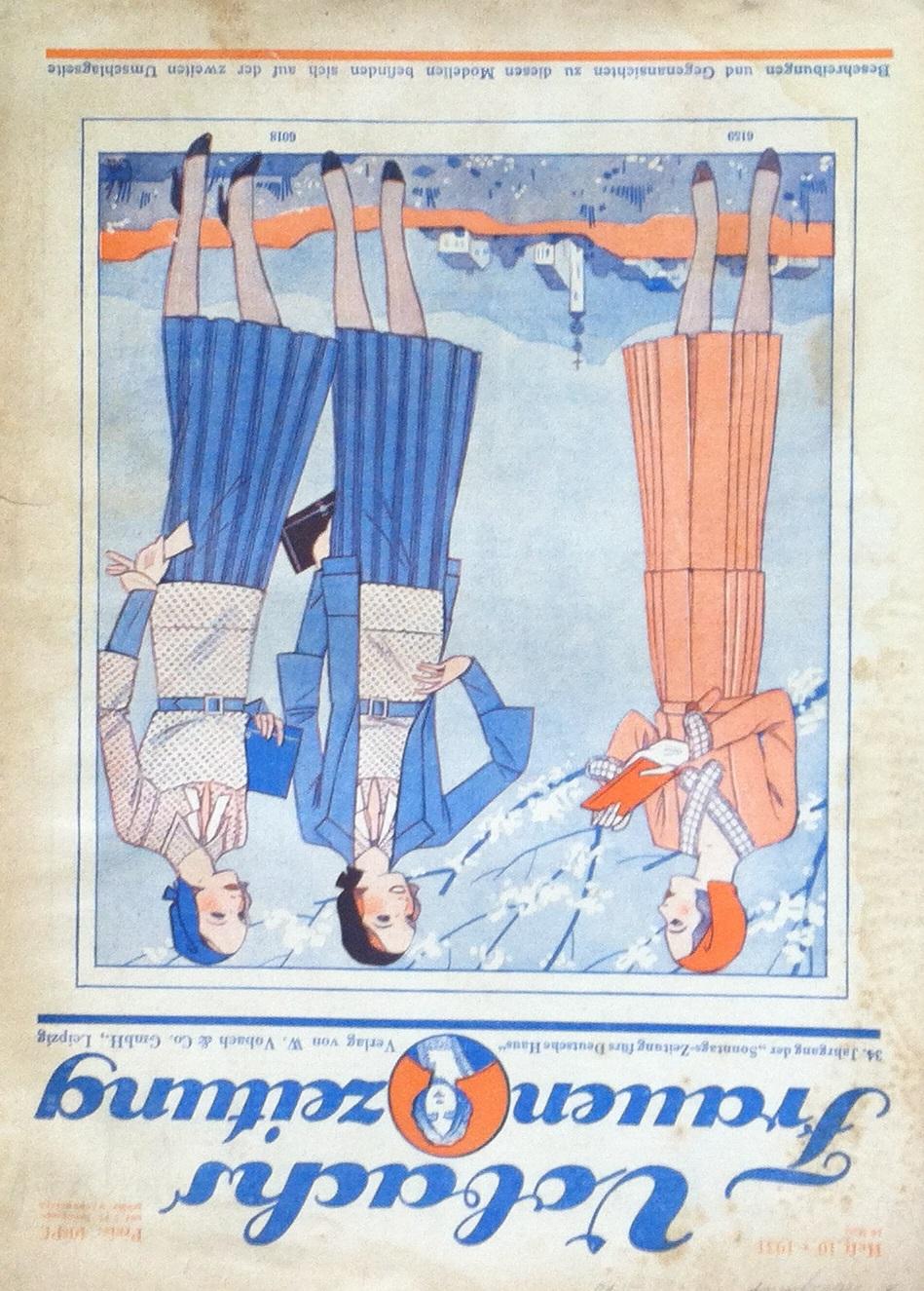 Vobachs Frauenzeitung No. 10 Vol. 34 1931