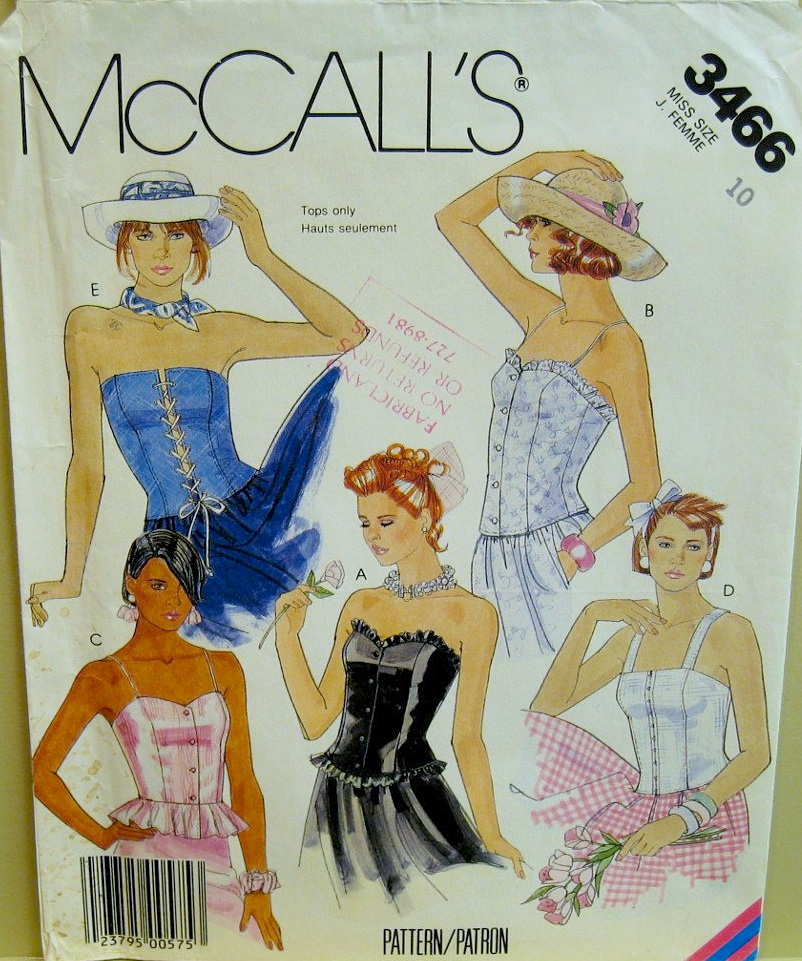 McCall's 3466 B