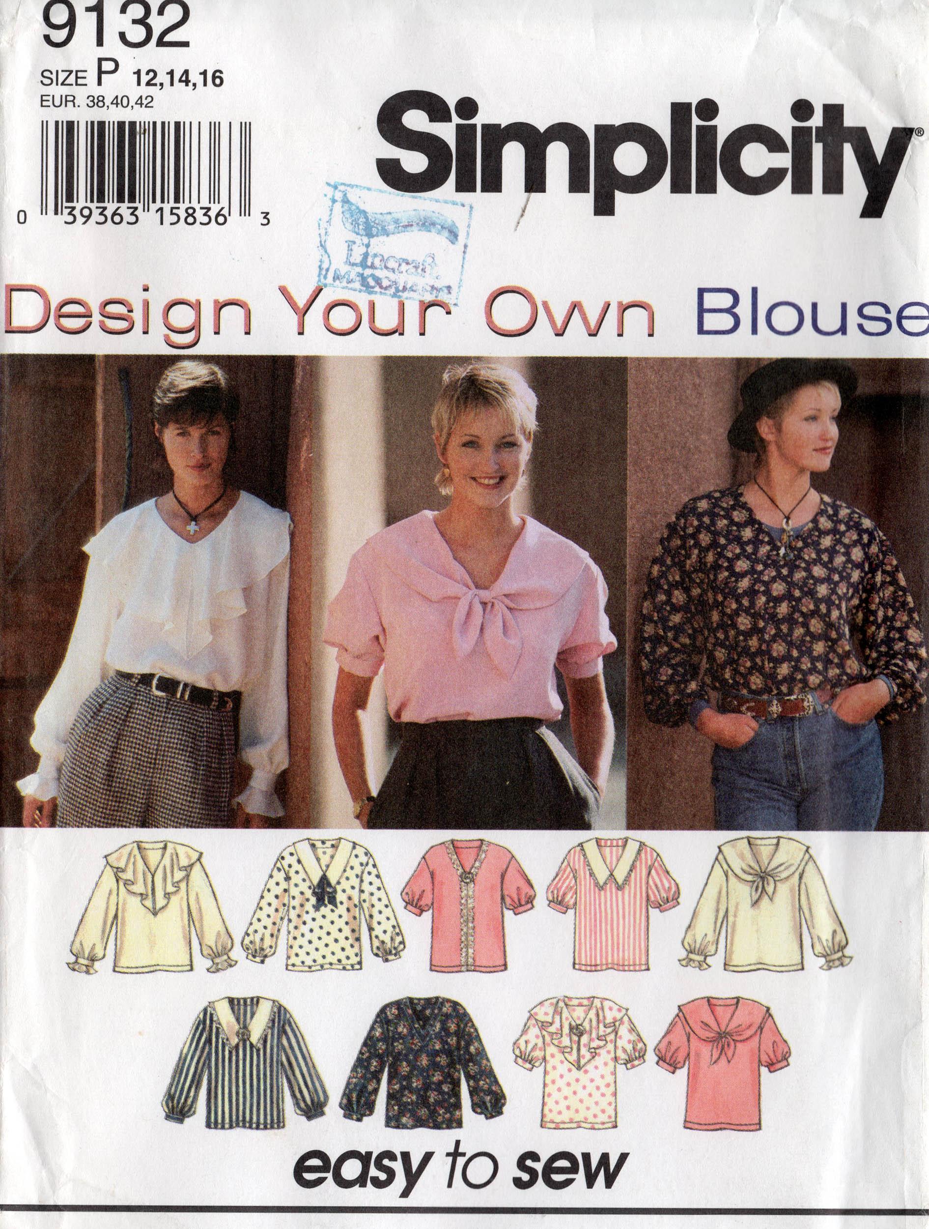 Simplicity 9132 B